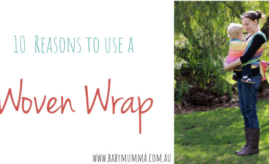 10 reasons to use a woven wrap